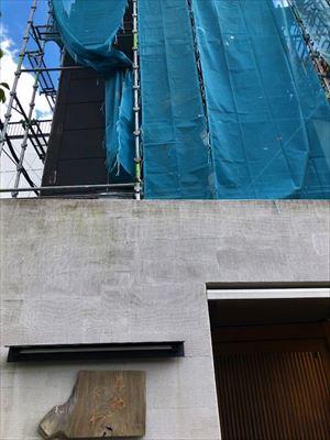外壁工事 始まります