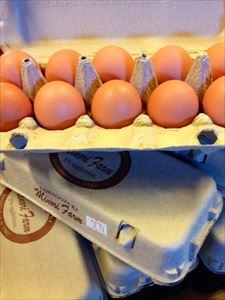 届きました! 美味しい卵!