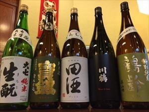 純米酒&特別純米酒